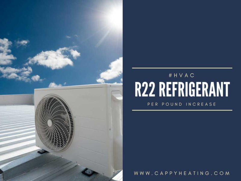 R-22 Refrigerant Cost Increase! - Cappy Heating and Air