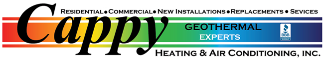 Cappy Heating and Air Conditioning Logo